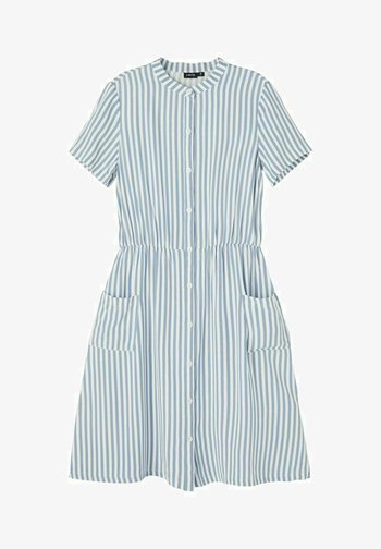 Shirt dress - ashley blue