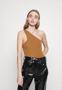Fashion Union - AMALFI BODY - Topper - tan - 0