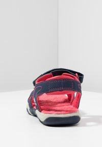 Timberland - ADVENTURE SEEKER 2 STRAP - Walking sandals - navy/pink - 4