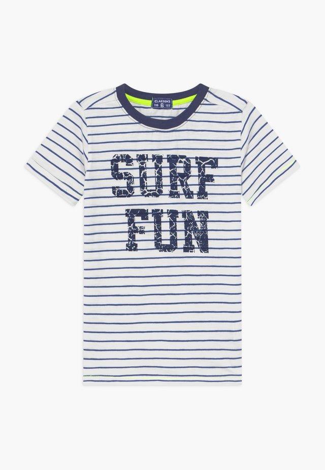 BOYS  - Camiseta estampada - cobalt