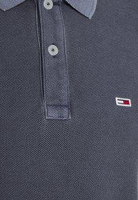 Tommy Jeans - GARMENT DYE - Piké - blue - 2