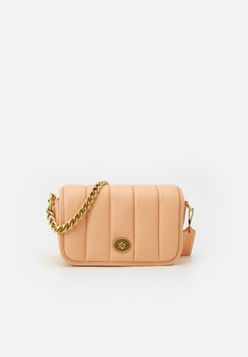 ORIGINALS PUFFY QUILTED DINKY CROSSBODY - Across body bag - faded blush