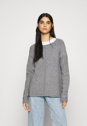 VIRIL ONECK - Jumper - medium grey melange