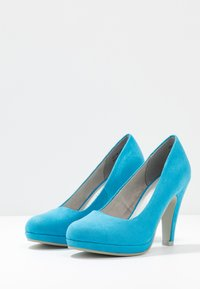 Marco Tozzi - High heels - malibu blue - 4