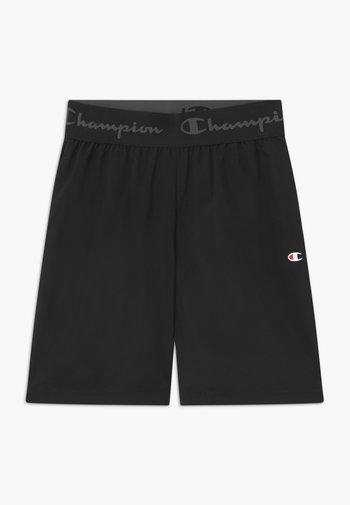 CHAMPION X ZALANDO BOYS PERFORMANCE SHORT - Pantalón corto de deporte - black