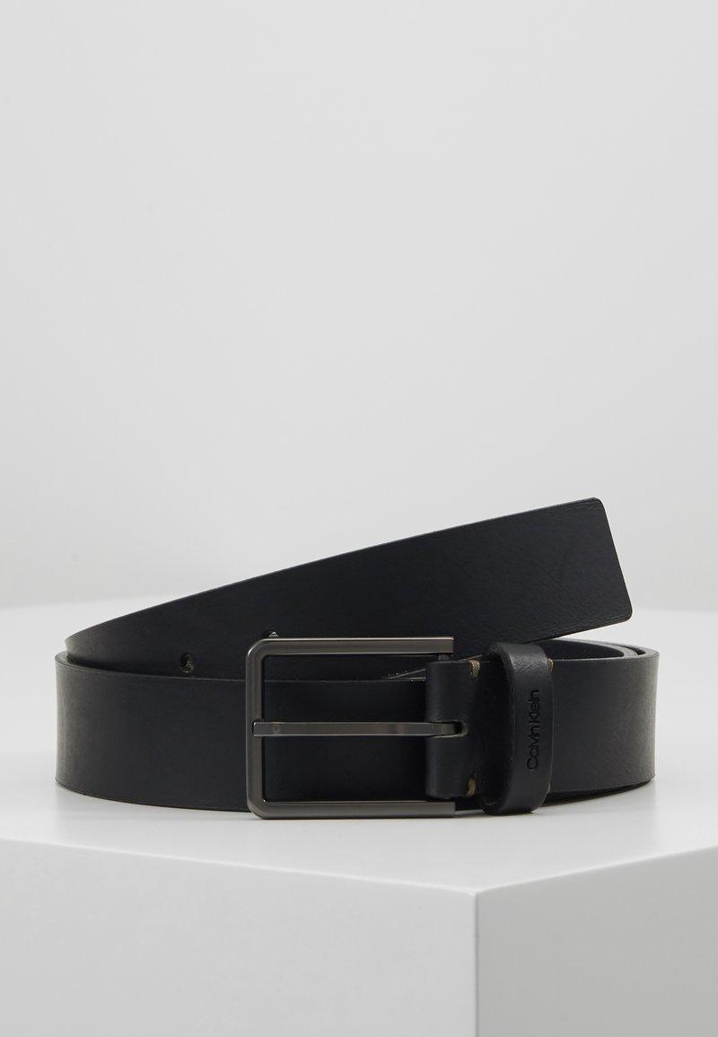Calvin Klein - ESSENTIAL BELT - Pásek - black