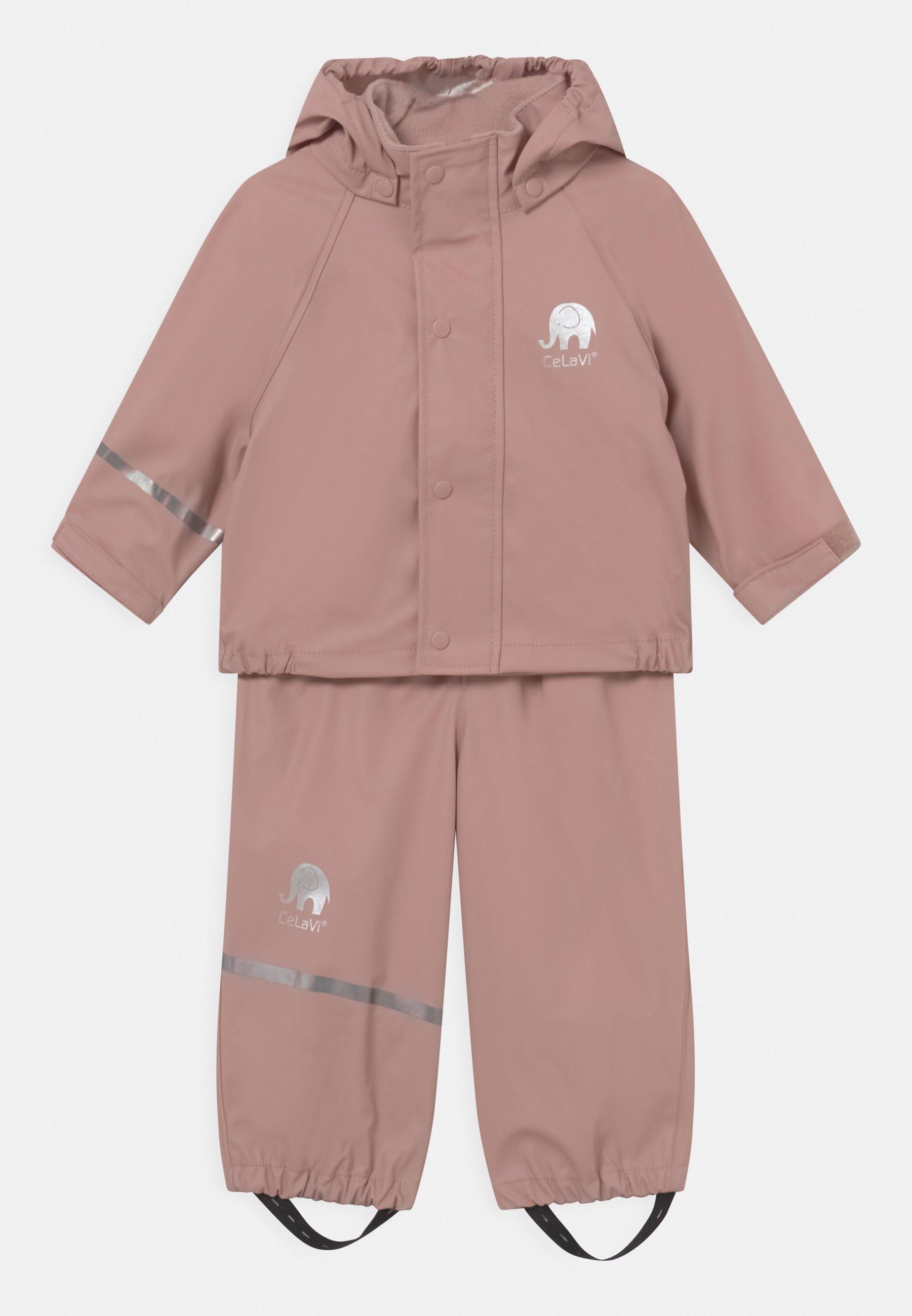 Kinder BASIC RAINWEAR SOLID SET UNISEX - Regenjacke / wasserabweisende Jacke