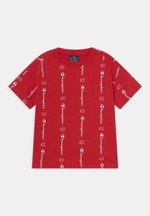 AMERICAN CLASSICS CREWNECK UNISEX - T-shirt con stampa - red