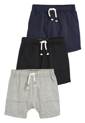 3 PACK LIGHTWEIGHT SHORTS - Short - black