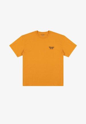 T-shirt med print - inca gold