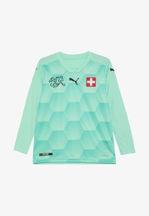 SCHWEIZ SFV GOALKEEPER JERSEY - National team wear - green glimmer