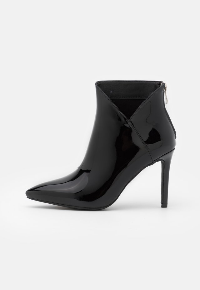 DIANNE - High heeled ankle boots - black