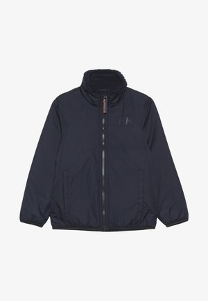 REVERSIBLE PILE JACKET - Outdoor jakke - navy