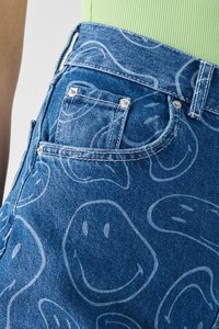 PULL&BEAR - SMILEY - Jeans Tapered Fit - blue - 5