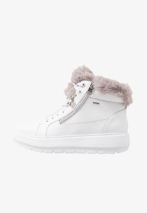 KAULA ABX - Ankle boots - white/dark grey
