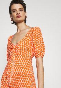 Diane von Furstenberg - TEAGAN DRESS - Day dress - tomato red - 4