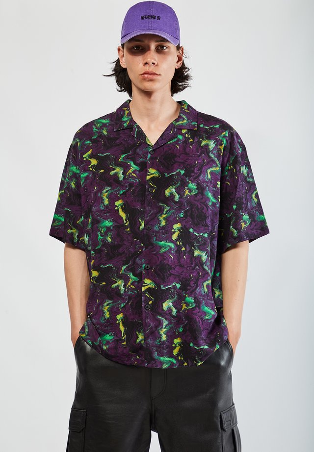 Koszula - mottled purple