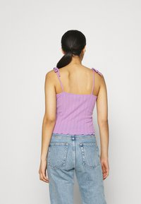 Pieces - PCTHEIA STRAP - Top - sheer lilac - 2