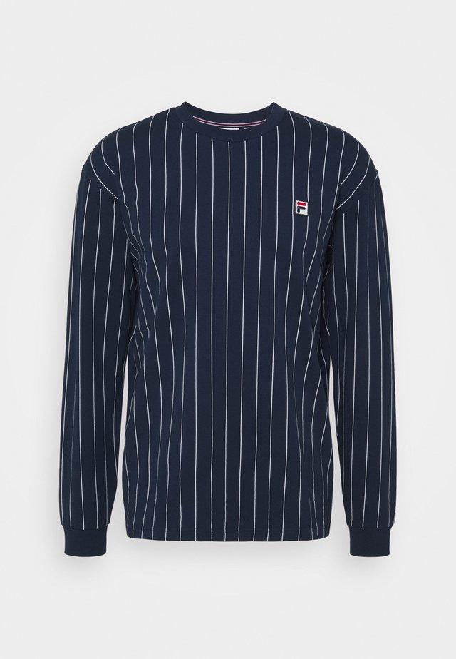 LONG SLEEVE  - Langærmede T-shirts - black iris