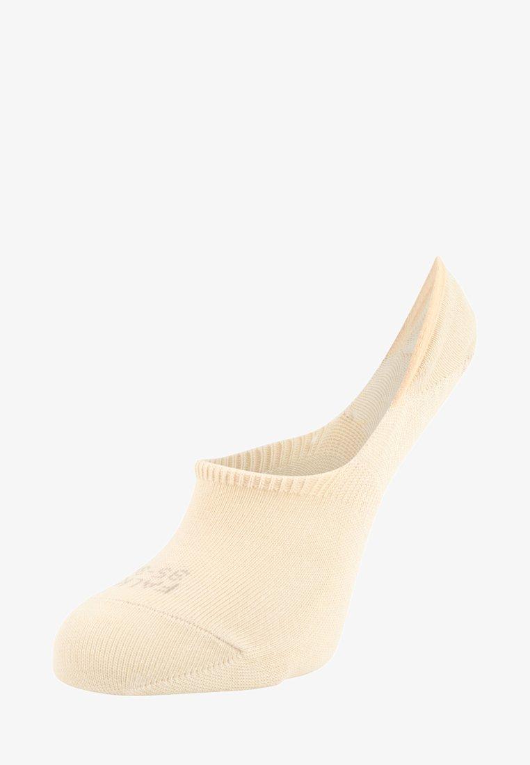 FALKE - STEP INVISIBLES - Ankelsokker - cream