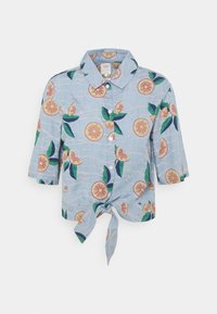 Lee - KNOTTED RESORT - Button-down blouse - piscine - 0