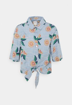 KNOTTED RESORT - Button-down blouse - piscine
