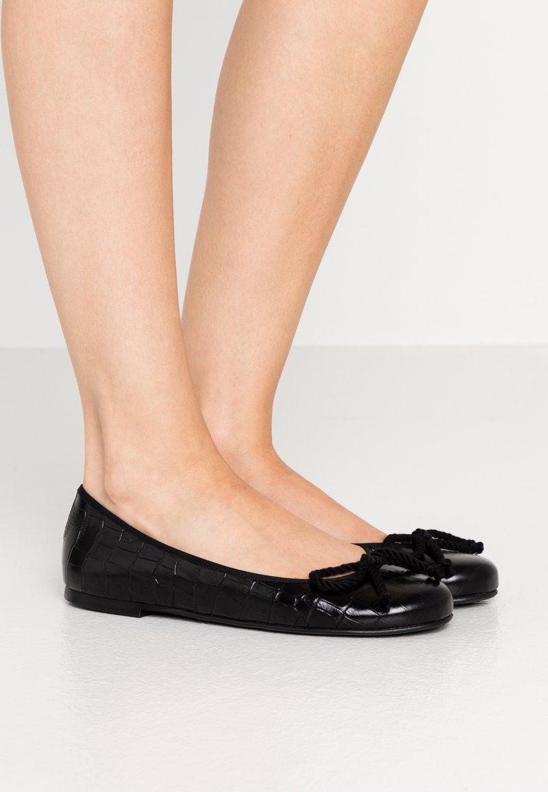 Pretty Ballerinas - TEMPO - Baleríny - black