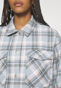 ONLY - ONLELLENE VALDA CHACKET - Summer jacket - cashmere blue/blue/pink - 5
