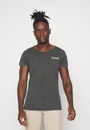 VINTAGE EAGLE WREN - T-shirt med print - vintage stone grey