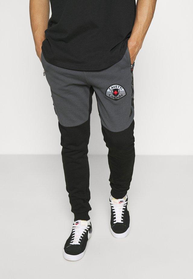 BOTTICINI JOGGER  - Teplákové kalhoty - jet black/asphalt
