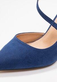 Buffalo - Zapatos altos - navy dark - 2