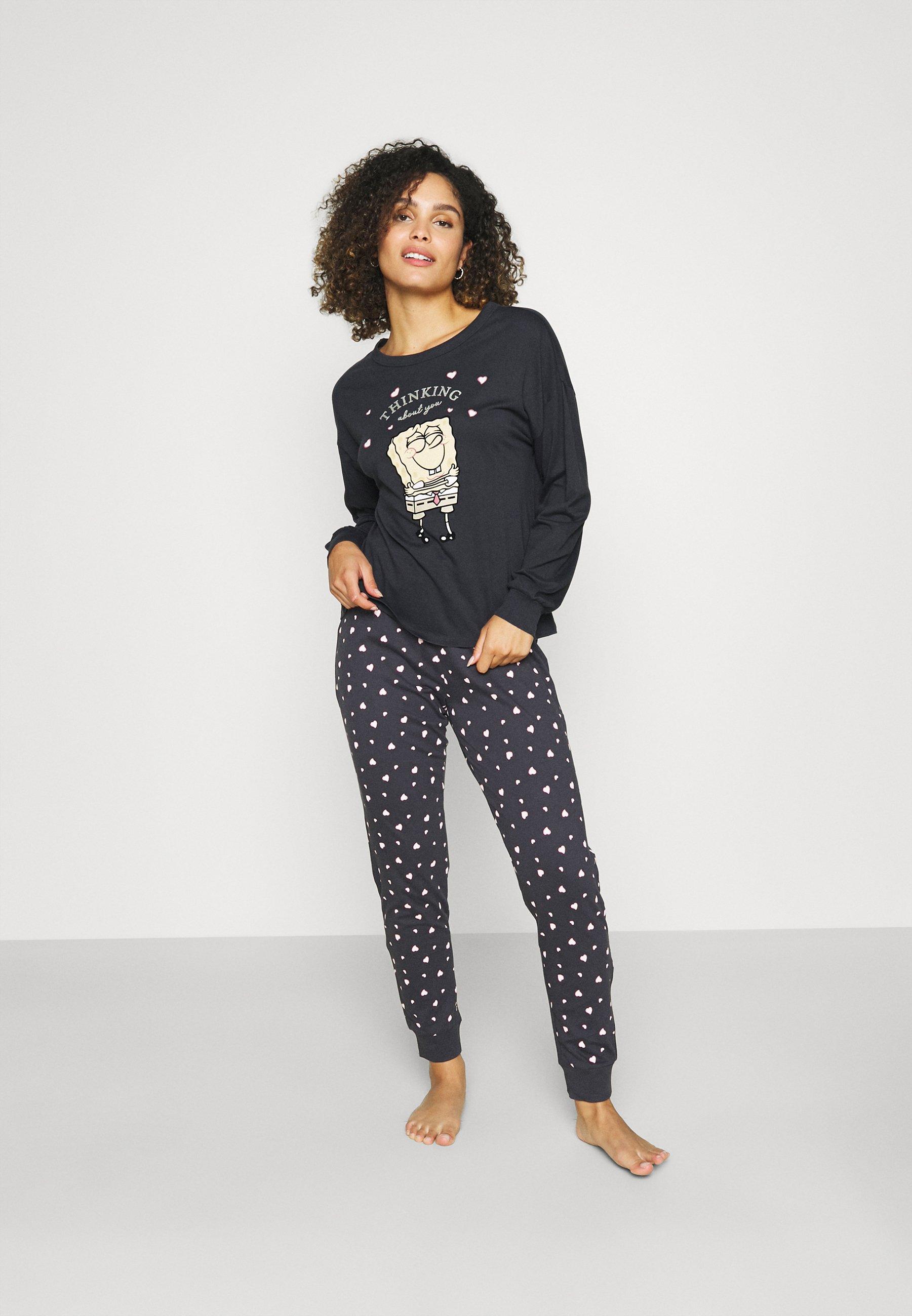 Damen SPONGE BOB HEARTS - Pyjama