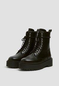 PULL&BEAR - Veterboots - black - 2
