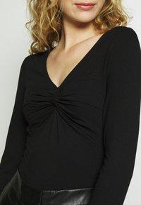 Anna Field - Camiseta de manga larga - black - 4
