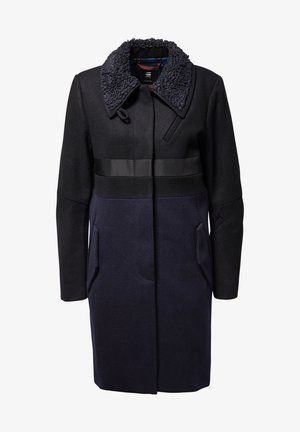 EMPRAL SLIM CB PALETOT - Manteau court - black/blue