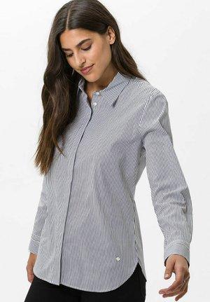 STYLE VICTORIA - Button-down blouse - marine