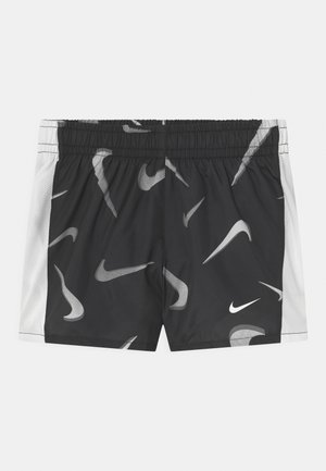 Sports shorts - black/white/smoke grey