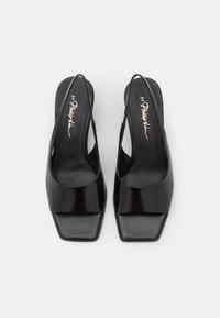 3.1 Phillip Lim - LAURA SLINGBACK WEDGE - Wedge sandals - black - 4