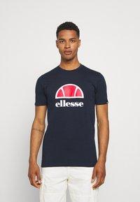 Ellesse - ALTERZI - T-shirt z nadrukiem - navy - 0