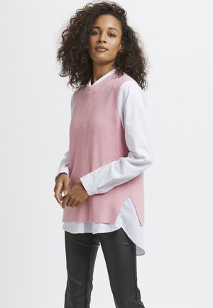 Top - candy pink melange
