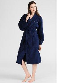 TOM TAILOR - BASIC KIMONO - Dressing gown - navy - 0