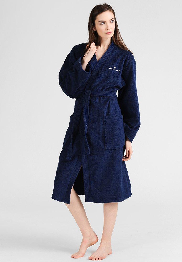 TOM TAILOR - BASIC KIMONO - Dressing gown - navy