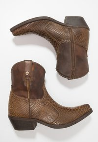 Kentucky's Western - Botki kowbojki i motocyklowe - braun - 1