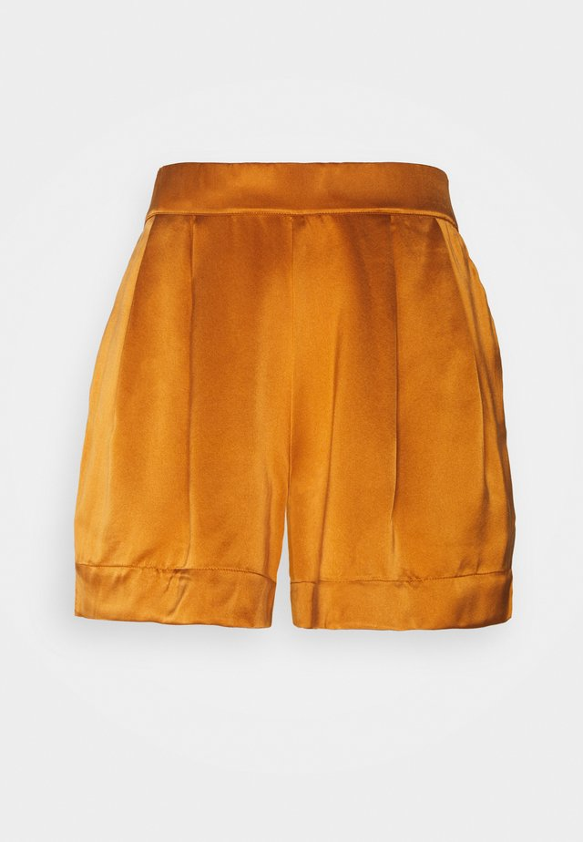 THE ZURICH SHORT - Pyjamasbukse - caramel
