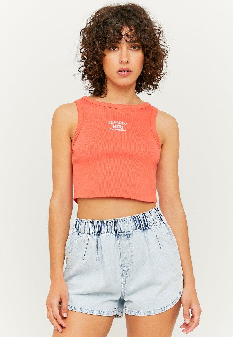 TALLY WEiJL - Denim shorts - blu