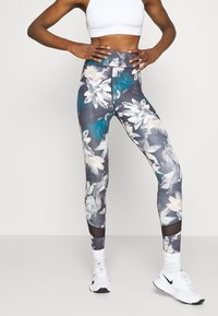 Even&Odd active - Leggings - light blue/multi-coloured - 0