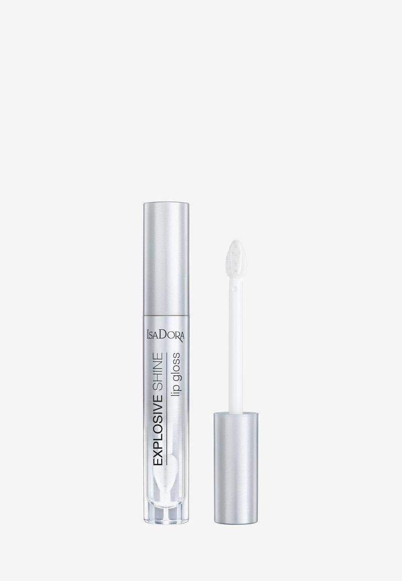 IsaDora - EXPLOSIVE SHINE LIP GLOSS - Lipgloss - crystal clear