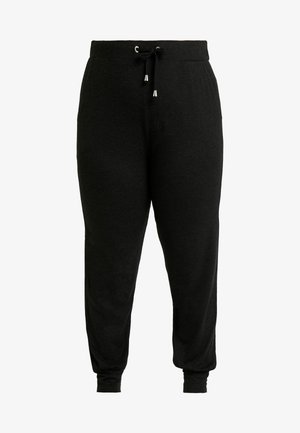 CARCARMA PANTS - Tracksuit bottoms - black/melange