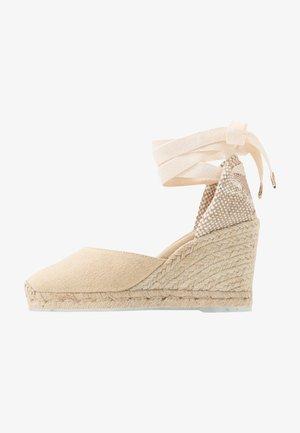 CARINA  - Sandály na vysokém podpatku - natural