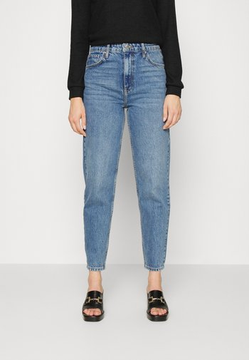 VINTAGE HIGH WAIST - Jeans relaxed fit - blue